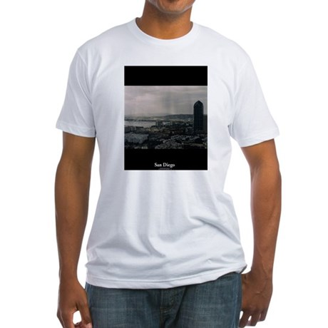 San Diego City Vista Fitted T-shirt (Mad