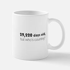 80th Birthday Mug