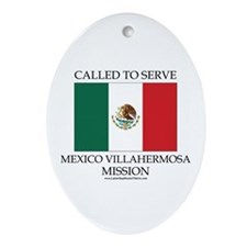 Mexico Villahermosa Mission - Mexico Flag - Called