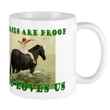 Proof God Loves us Mug
