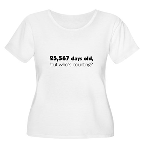 70th Birthday Women's Plus Size Scoop Neck T-Shirt