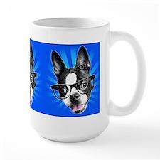 Cute! Hipster Boston Terrier Mug