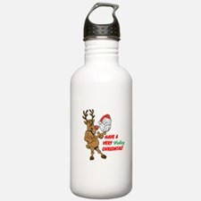HAVE A VERY VOLLEY CHRISTMAS! Water Bottle