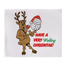 HAVE A VERY VOLLEY CHRISTMAS! Throw Blanket