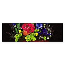 Flowers In Terra Cotta Bumper Bumper Sticker
