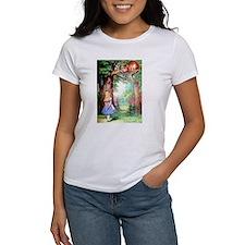 Alice & The Cheshire Cat Tee