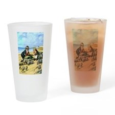 The Carpenter and the Walrus Drinking Glass