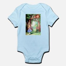 Alice & The Cheshire Cat Infant Bodysuit