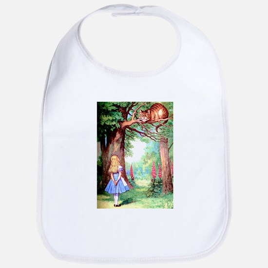 Alice & The Cheshire Cat Bib