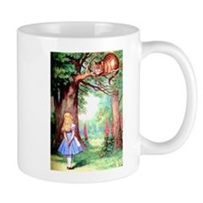 Alice & The Cheshire Cat Small Mugs