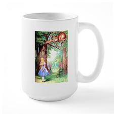 Alice & The Cheshire Cat Ceramic Mugs