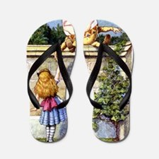Alice and Humpty Dumpty Flip Flops