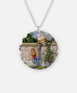 Alice and Humpty Dumpty Necklace