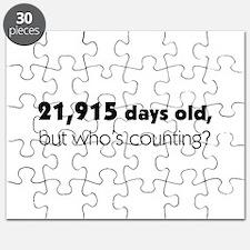 60th Birthday Puzzle
