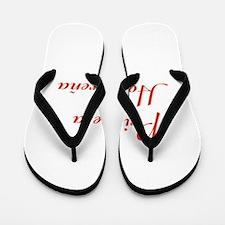 Princesa Hondureña Flip Flops