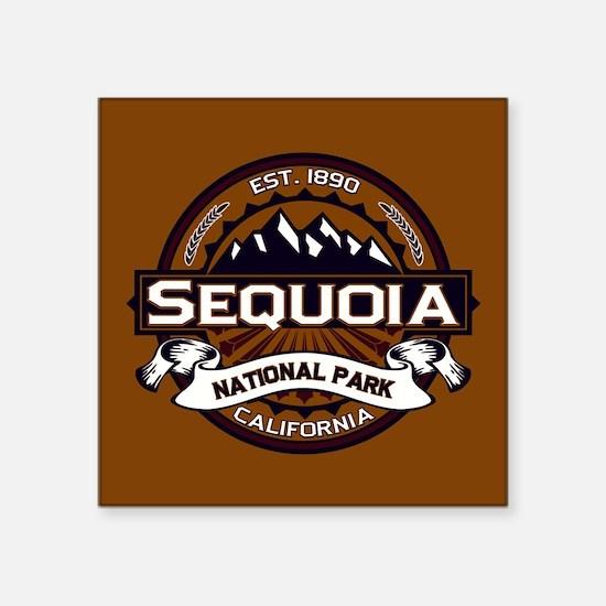 "Sequoia Logo.png Square Sticker 3"" x 3"""