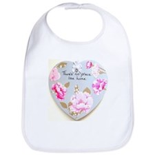 There's No Place Like Home Heart Bib