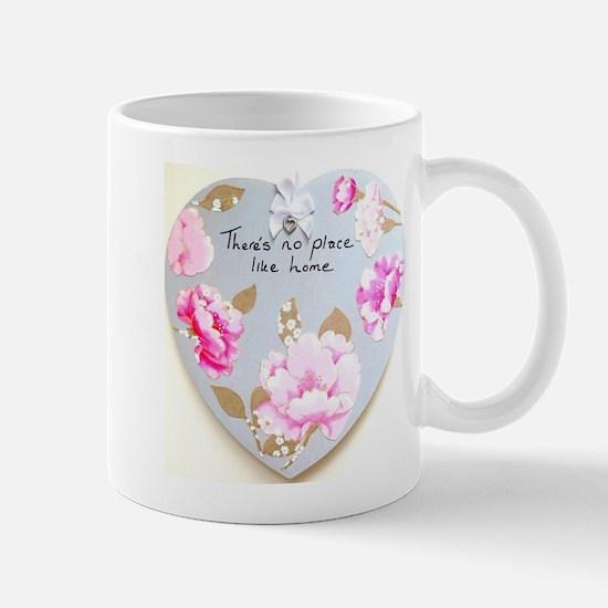 There's No Place Like Home Heart Mug