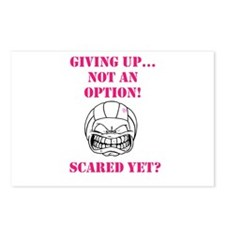 scared yet? Postcards (Package of 8)