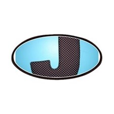 THE LETTER J Patches