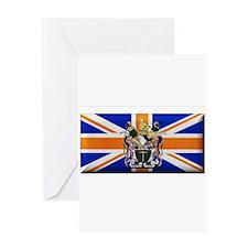 British Rhodesian Flag Greeting Card