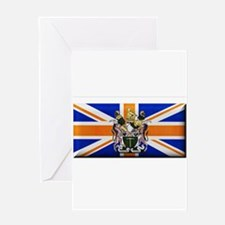 British Rhodesian Flag Greeting Card