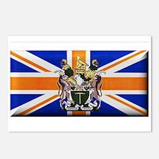 British Rhodesian Flag Postcards (Package of 8)