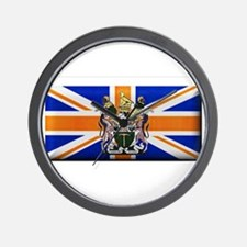 British Rhodesian Flag Wall Clock
