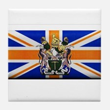 British Rhodesian Flag Tile Coaster