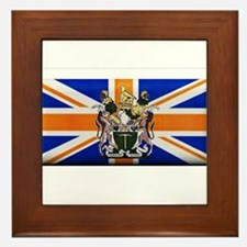 British Rhodesian Flag Framed Tile