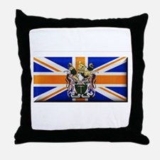 British Rhodesian Flag Throw Pillow