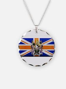 British Rhodesian Flag Necklace