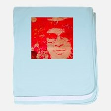 Slash in abstract baby blanket