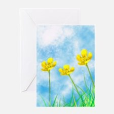 Buttercup Sky digital art by by April Dawn Greetin