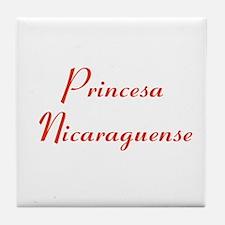 Princesa Nicaraguense Tile Coaster