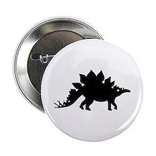 """Dinosaur Stegosaurus 2.25"""" Button"""