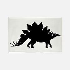 Dinosaur Stegosaurus Rectangle Magnet