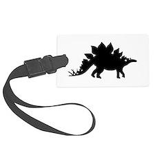 Dinosaur Stegosaurus Luggage Tag
