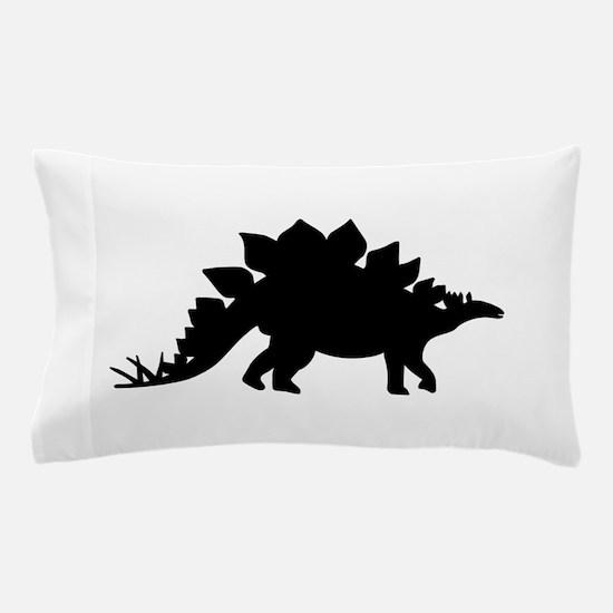 Dinosaur Stegosaurus Pillow Case