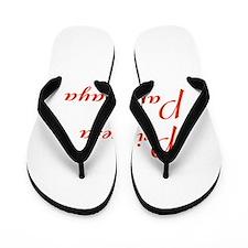 Princesa Paraguaya Flip Flops