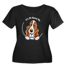 Basset Hound IAAM Plus Size T-Shirt