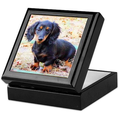 Puppy Love Doxie Keepsake Box