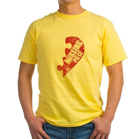 Puzzle Yellow T-Shirt