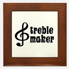 Treble Maker Framed Tile