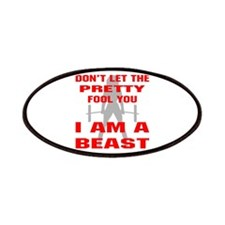 Female I Am A Beast Patches