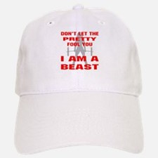 Female I Am A Beast Baseball Baseball Cap