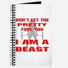 Female I Am A Beast Journal