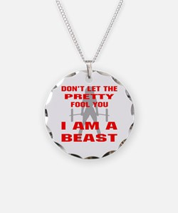 Female I Am A Beast Necklace