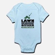 Lawn Enforcement Infant Bodysuit