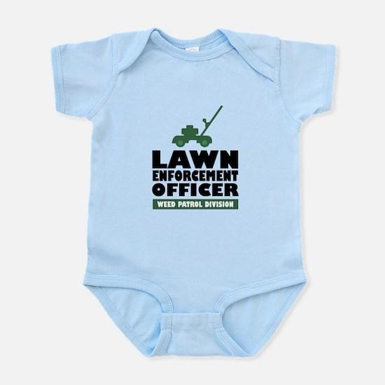 Lawn Enforcement Infant Bodysuit